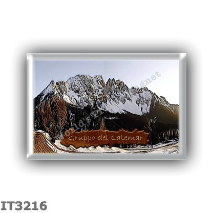 IT3216 Europe - Italy - Dolomites - Latemar group