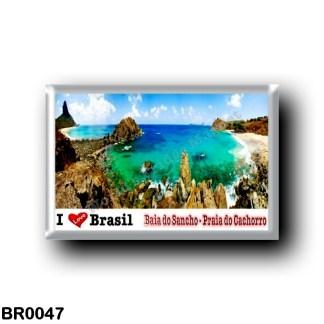 BR0047 America - Brazil - Fernando de Noronha - Baia do Sancho - Praia do Cachorro - I Love
