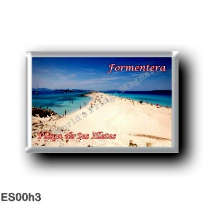 ES00h3 Europe - Spain - Balearic Islands - Formentera - Playa de Ses Illetes
