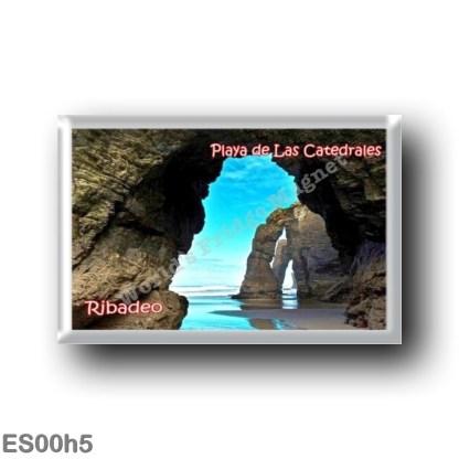 ES00h5 Europe - Spain - Ribadeo - Playa de las Catedrales
