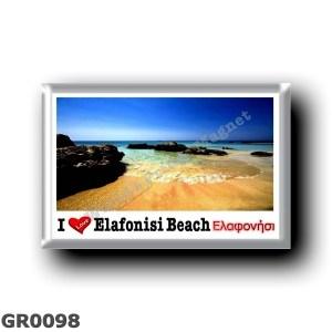 GR0098 Europe - Greece - Elafonisi beach