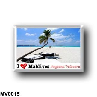 MV0015 Asia - Maldives - Angsana Velavaru - I Love