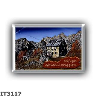 IT3117 Europe - Italy - Dolomites - Group Marmarole - alpine hut Giovanni Chiggiato - locality Monte Pianezze - seats 50 - altit