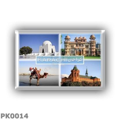 PK0014 Asia - Pakistan - Karachi - Mazar e Quaid - Mohatta Palace - Clifton beach - Frere Hall