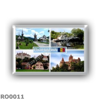 RO0011 Europe - Romania - Barsana Monastery - Danube Delta - Sighisoara - Bran Castle