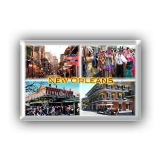 US0113 America - Usa - New Orleans - Bourbon Street - Mardi Gras - French Quarter - Cafè du Mond