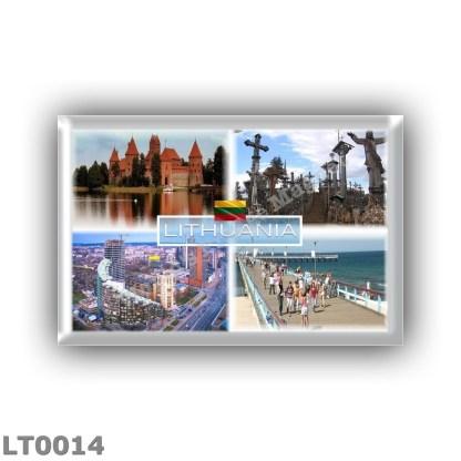 LT0014 Europe - Lithuania - Trakai - Siuliai Hill of Crosses - City Centre - Palanga