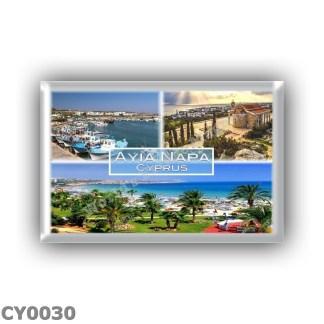 CY0030 Europe - Cyprus - Ayia Napa - Harbor - Panorama - Nelia Beach