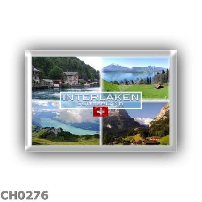 CH0276 Europa - Switzerland - Interlaken - Lake Thun - Thunersee and Mount Niesen - Grindelwald