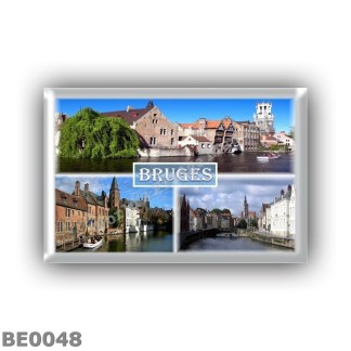 BE0048 Europe - Belgium - Bruges - Canals - Panorama