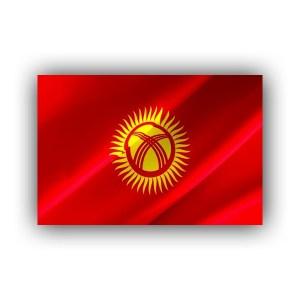 Kyrgyzstan - flag