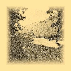 Lake Idro - drawing