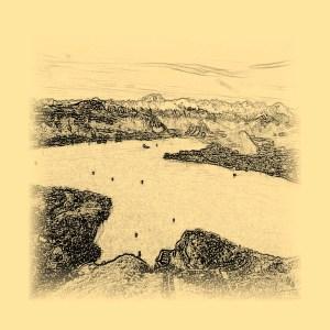 Lake Maggiore - drawing