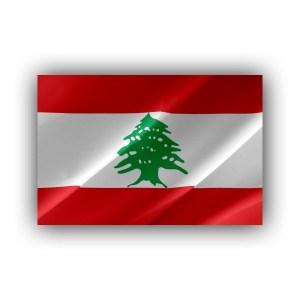 Lebanon - flag