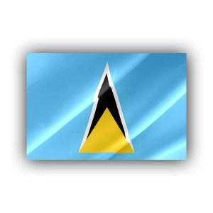 Saint Lucia - flag