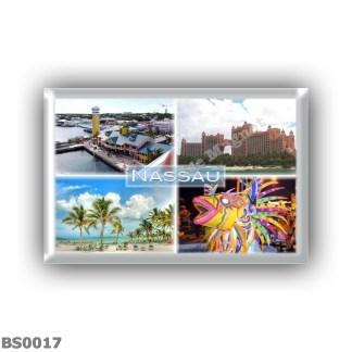 BS0017 America Bahamas - Nassau - Cruise Terminal - Hotel on Atlantis Paradise Island - Beaches in Nassau - Junkanoo Festival