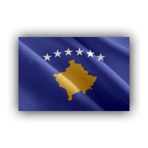 Cover - Europe - Kosovo - flag - waving