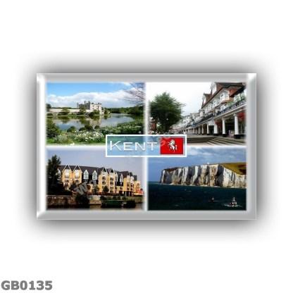 GB0135 Europe - United Kingdom - England - Kent - Leeds Castle - Royal Tunbridge Wells - Maidstone - White Cliffs of Dover