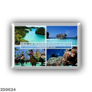 ID0024 Asia - Indonesia - Raja Ampat Islands - Panorama - Sea View - Penabuh Suling Tambur - Biodiversity in Raja