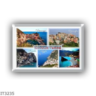 IT3235 Europe - Italy - Liguria - Cinque Terre - Vernazza - Corniglia - Manarola - Riomaggiore - Monterosso