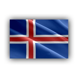 Cover - Iceland - flag - waving