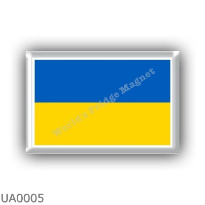 UA0005 Europe - Ukraine - flag