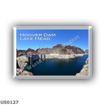US0127 America - Usa - Nevada - Clark County - Mohave County Arizona - Black Canyon - Lake Meid - Hoover dam - Colorado River - Panorama