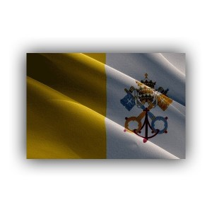 Cover - Europe - Vatican City - flag - waving
