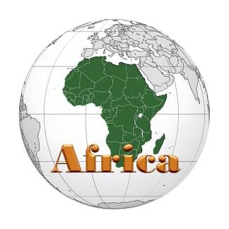:) Africa