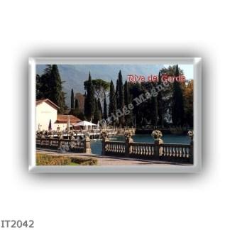 IT2042 Europe - Italy - Trentino Alto Adige Sudtirol Südtirol - Riva del Garda - Garda lake