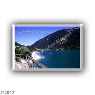 IT2047 Europe - Italy - Trentino Alto Adige Sudtirol Südtirol - Molveno - lake - Panorama