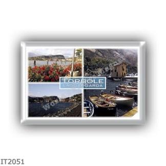 IT2051 Europe - Italy - Trentino Alto Adige Sudtirol Südtirol - Lake Garda - Torbole - Panorama