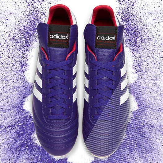 Samba Copa Mundial KV pairs purple adidas Release Limited Edition Copa Mundial Soccer Cleats [PHOTOS]
