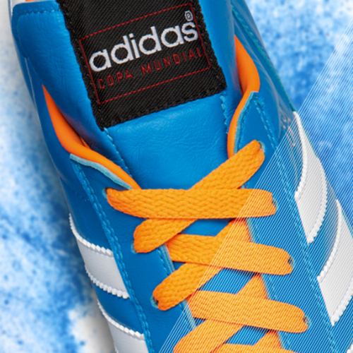 Samba Copa Mundial detail blue b adidas Release Limited Edition Copa Mundial Soccer Cleats [PHOTOS]