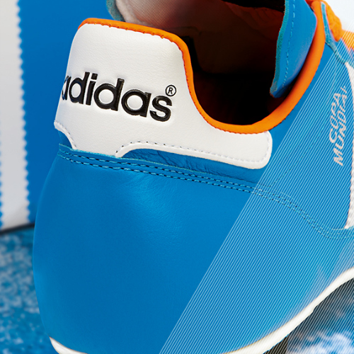 Samba Copa Mundial detail blue c adidas Release Limited Edition Copa Mundial Soccer Cleats [PHOTOS]