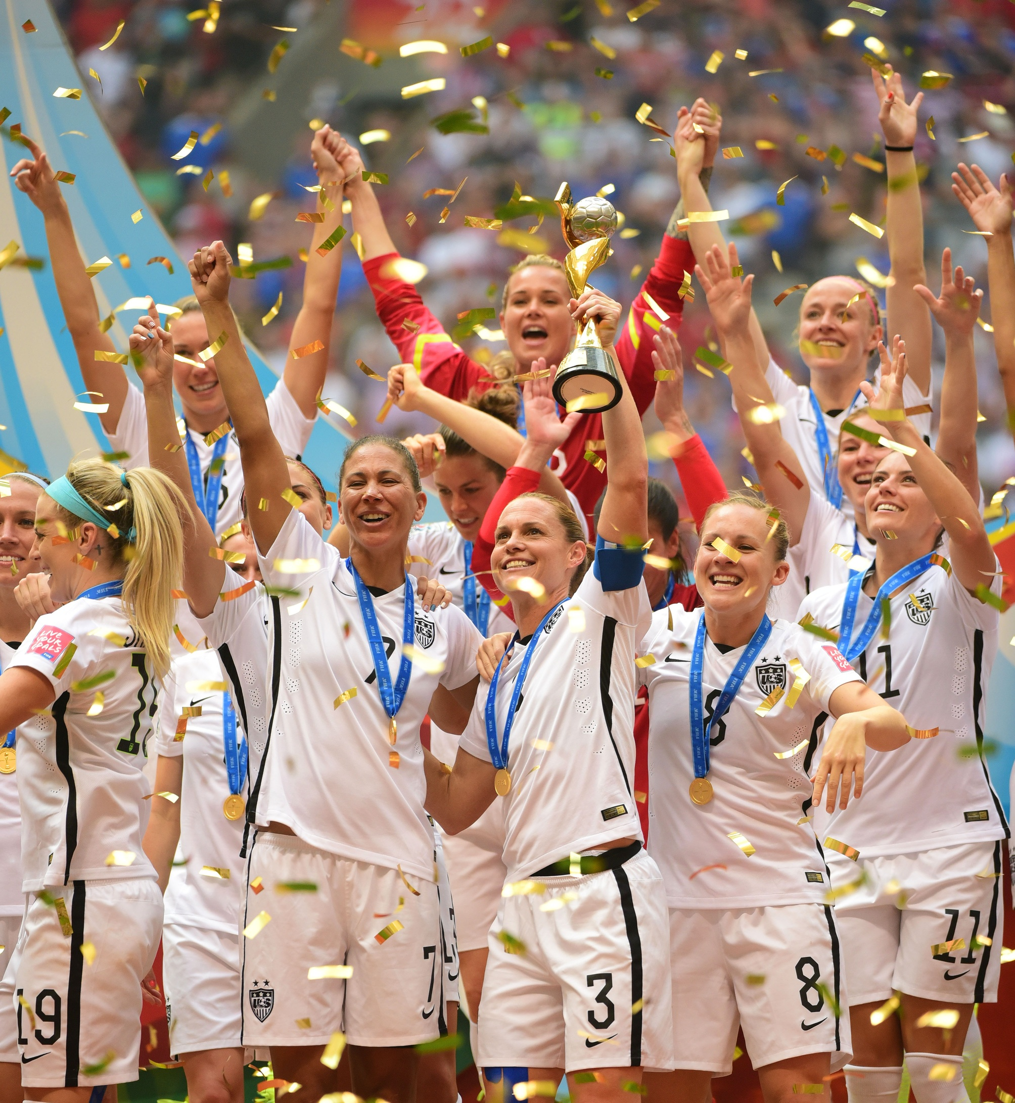 Usa Japan Women S World Cup Final Smashes Record For Most