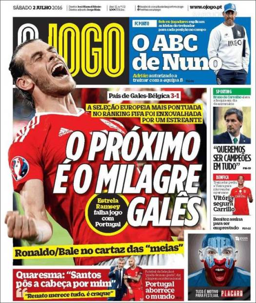 O Jogo - The Highest Ranked FIFA Team Beaten by Rookies - Yet Another Miracle for Wales