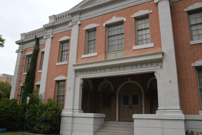 Warner Bros Studio-Rosewood High School