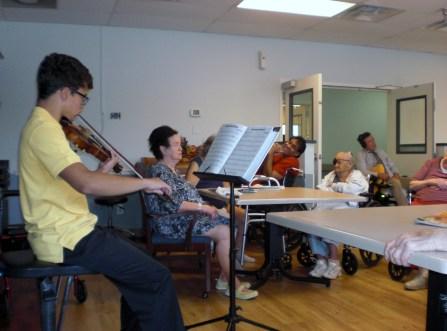 2014 concert - Phoenix nursing home