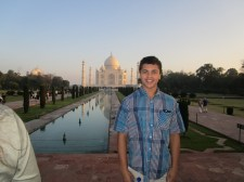 India service trip 2015 -- at the Taj Mahal