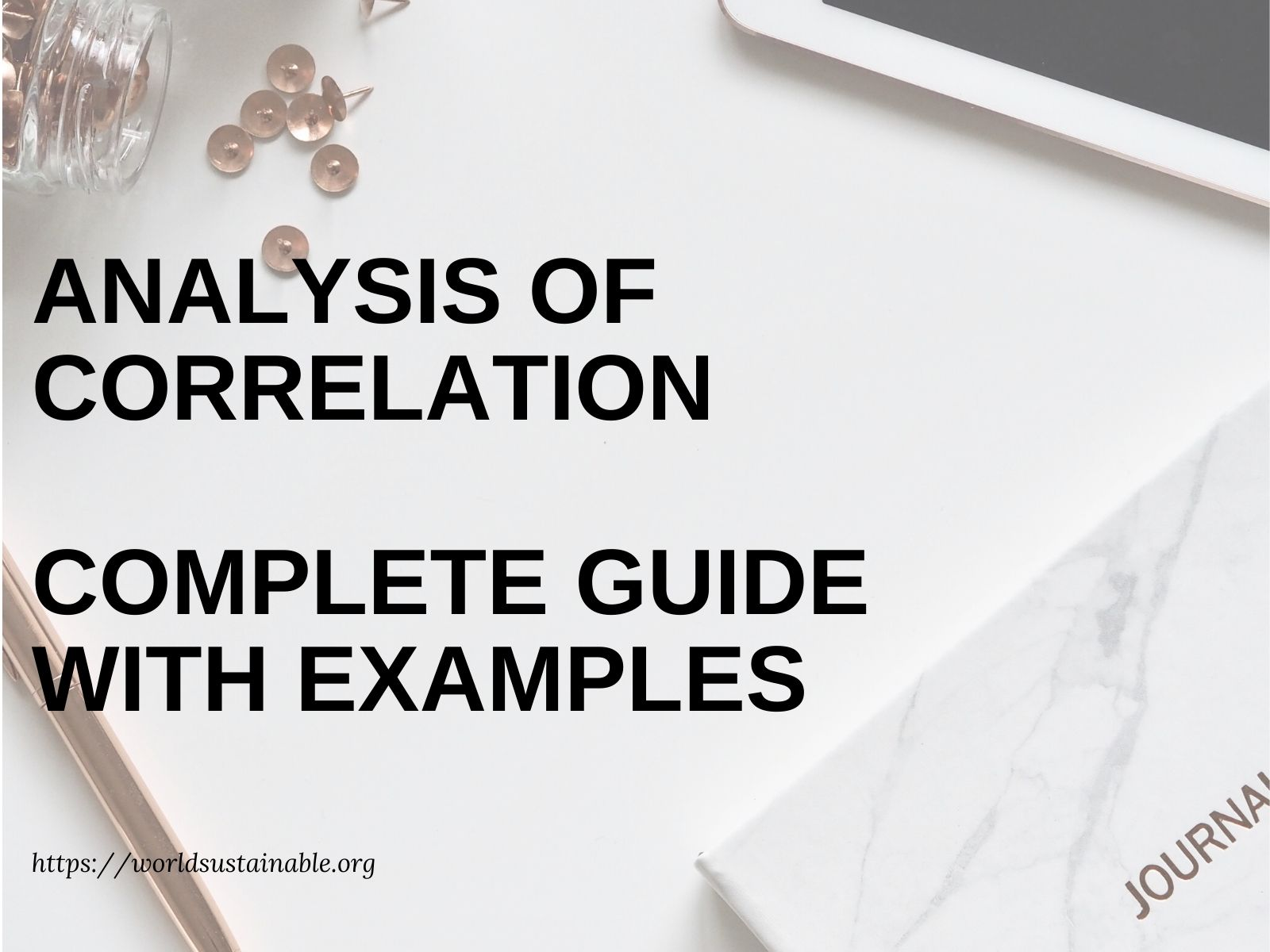 analysis-of-correlation-guide