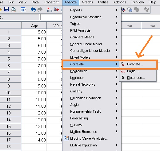 using-spss-to-find-pearson-correlation