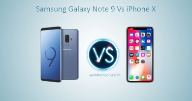 Samsung Galaxy Note 9 Vs iPhone X