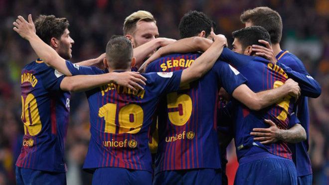 Brilliant Barcelona Trash Sevilla 5-0 In Copa Del Rey Final