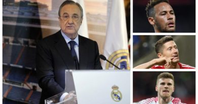 The Reason Why Real Aren't Signing Anyone: Waiting For Neymar