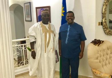 Namibia High Commissioner To Nigeria Hosts Fulani Monarch In Abuja