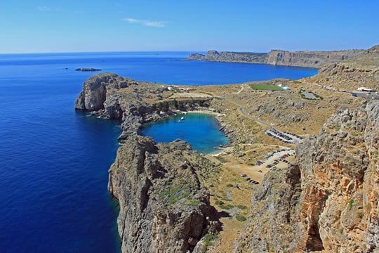 Heart Shaped Lake - Rhodes Island - Greece