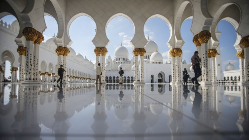 Top 25 Favourite Landmarks of the World - Sheikh Zayed Grand Mosque - Abu Dhabi