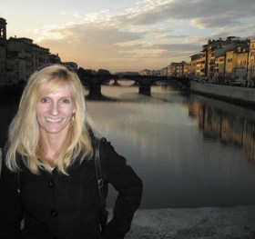 Travel journalist, Janna Graber on a recent trip to Florence, Italy.