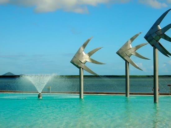 The lagoon Cairns